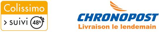 Livraison Chronopost et Colissimo