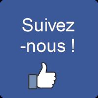 Suivez-nous sur notre page Facebook